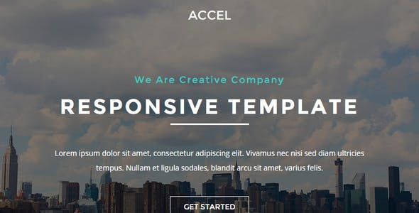 Accel - Responsive Email + StampReady Builder