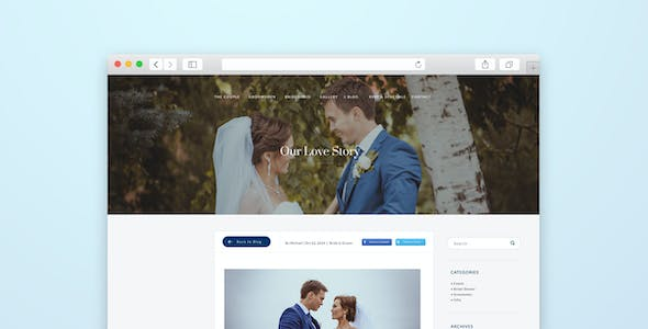 Matrimonial Website Templates from ThemeForest