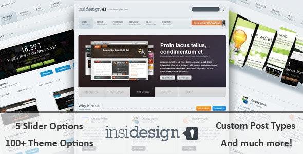 Insidesign WP Theme - Creative WordPress