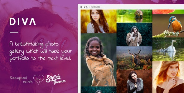 DIVA - Fabulous Photography WP Theme - Photography Creative