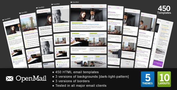 OpenMail - Email Templates Marketing