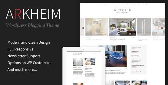 Arkheim - WordPress Blog Theme