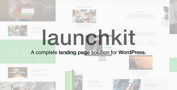 Launchkit Landing Page & Marketing WordPress Theme - Marketing Corporate