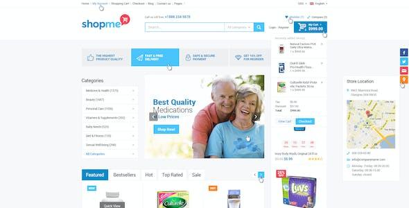 ShopMe - Ecommerce Multipurpose PSD Template