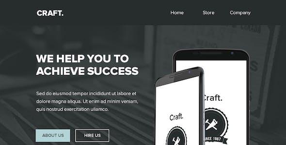 Craft - 4 Pack Templates + Themebuilder Access