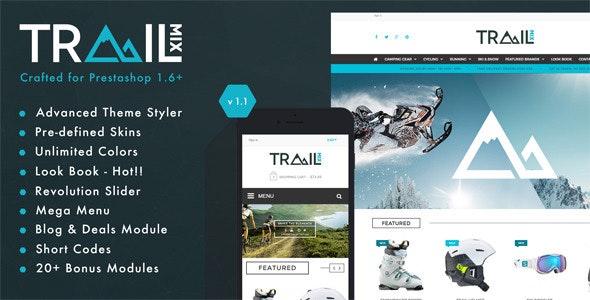TrailMix - Multi Purpose Responsive Prestashop Theme - PrestaShop eCommerce