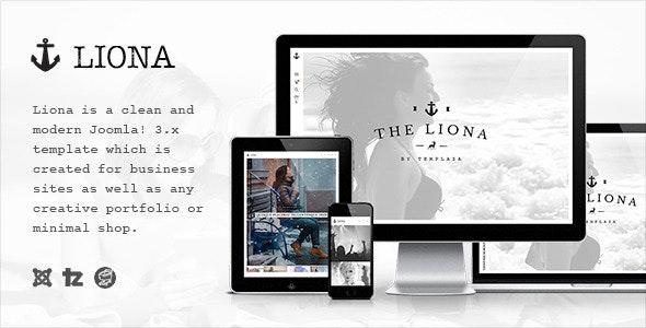 Liona - Responsive Portfolio Joomla Template - Portfolio Creative