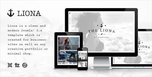 Liona - Responsive Portfolio Joomla Template