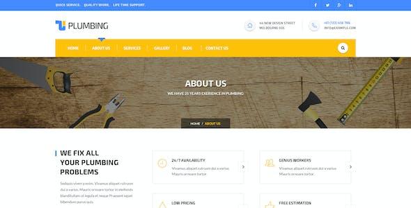 Handyman - Construction HTML Template