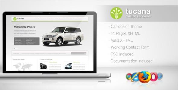 Tucana - Cars Dealer Template