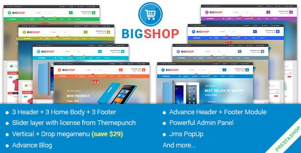 JMS Bigshop - Multipurpose Prestashop Theme - Shopping PrestaShop