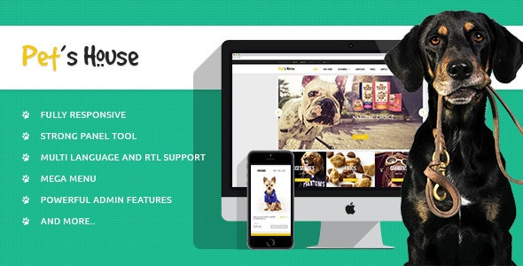 Leo Pet's House Prestashop Theme - PrestaShop eCommerce