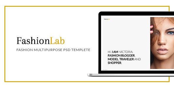 Fashion Lab - PSD - Photography Creative
