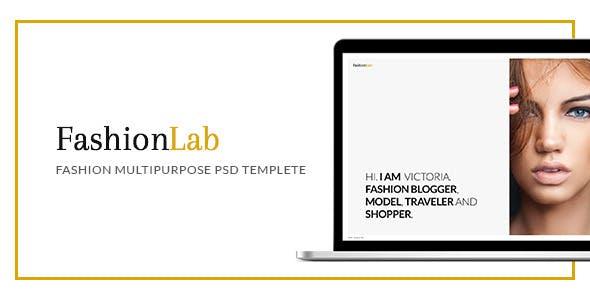 Fashion Lab - PSD