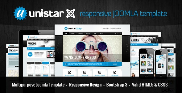Unistar | Multipurpose Responsive Joomla template - Corporate Joomla