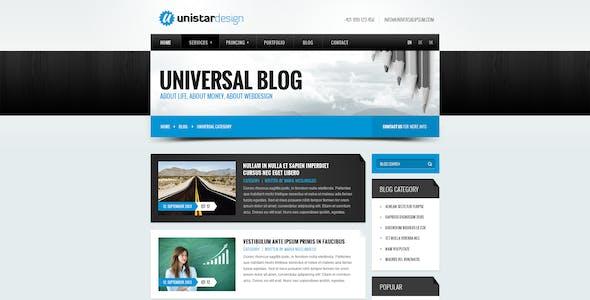 Unistar   Multipurpose Responsive Joomla template