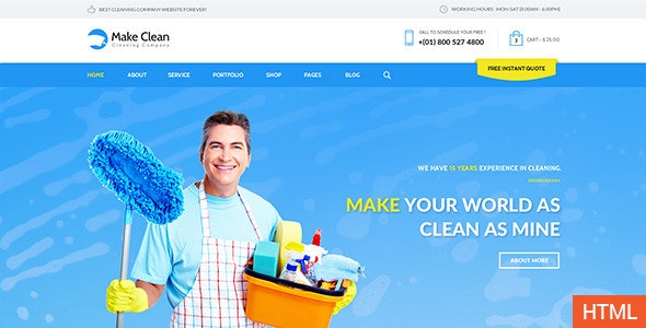 Make Clean - Responsive HTML Template - Business Corporate
