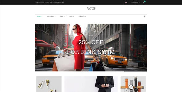 JMS Flatize - Fashion Responsive Prestashop Theme