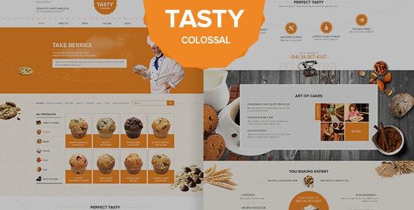 Tasty Psd Template - Photoshop UI Templates