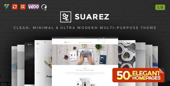 Suarez - Clean, Minimal & Modern Multi-Purpose WordPress Theme - Business Corporate
