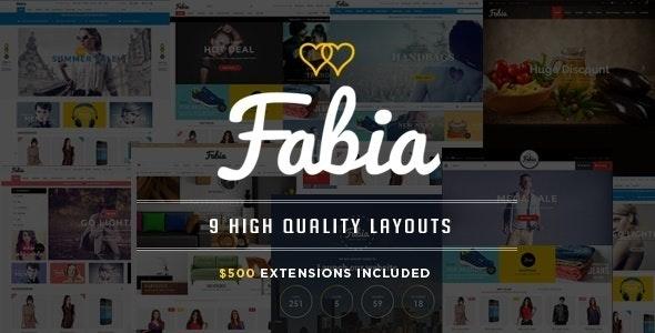 Fabia - Restaurant Responsive Magento Theme - Shopping Magento
