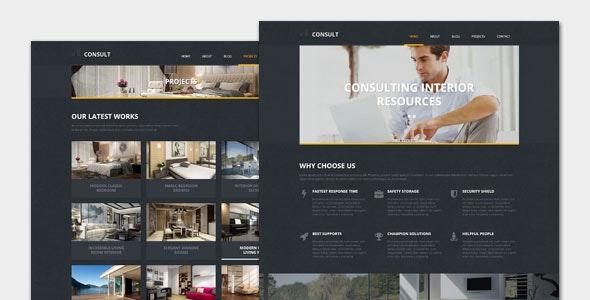 Consult - Marketing Business WordPress Theme - Marketing Corporate