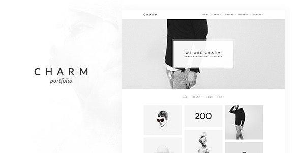 Charm - Portfolio for Freelancers & Agencies - Portfolio Creative