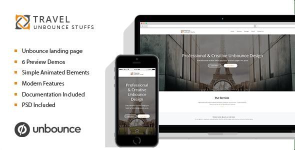 Travel Tour - Unbounce Landing Page - Unbounce Landing Pages Marketing