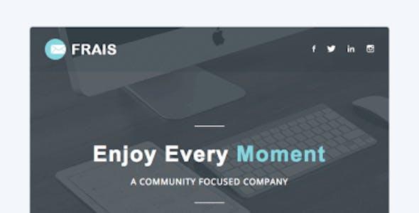Frais | Responsive Email Set