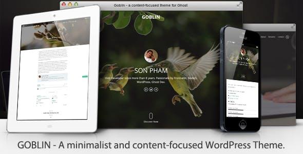 Goblin - Content-Focused WordPress Theme