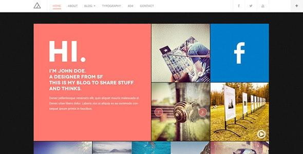 DW Fixel - Responsive WordPress Blog Theme - Personal Blog / Magazine
