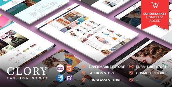 Glory - Multipurpose WooCommerce WordPress Theme - WooCommerce eCommerce