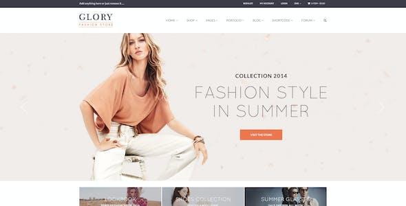 Glory - Multipurpose WooCommerce WordPress Theme