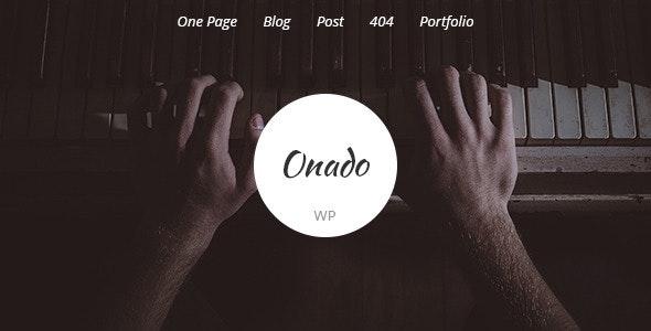 Onado – One Page WordPress Theme - Corporate WordPress