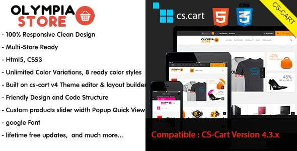 CS-Cart Themes & Templates from ThemeForest