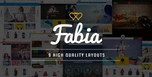 Fabia - Multipurpose Responsive WooCommerce WordPress Theme - WooCommerce eCommerce