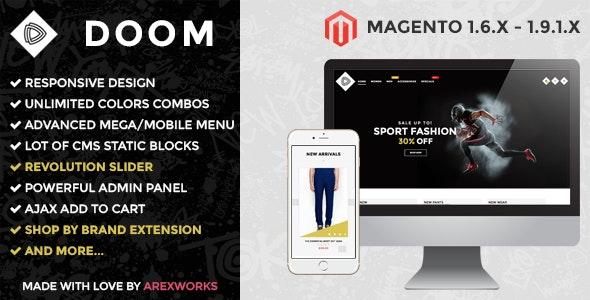 ARW Doom - Modern fashion responsive magento theme - Fashion Magento