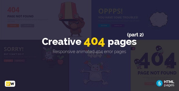 Creative 404 Pages (Part 2)  - 404 Pages Specialty Pages