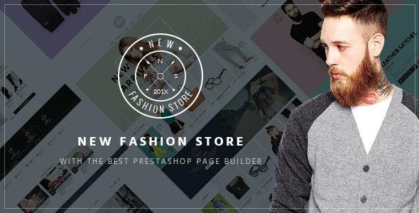 Pts NewFashion - Creative Fashion Prestashop Theme - Fashion PrestaShop