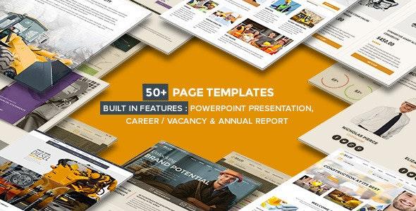 Billio - Multipurpose Company WordPress Theme - Business Corporate