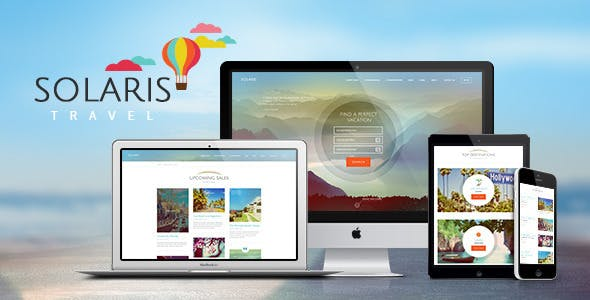 Solaris | Travel Agency WordPress Theme