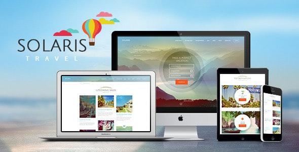 Solaris   Travel Agency WordPress Theme - Travel Retail