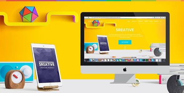 Sreative   Digital Agency HTML Template