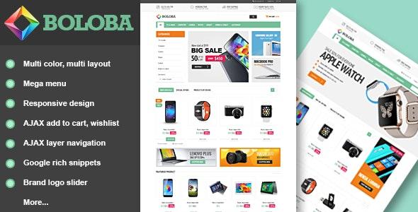 Boloba - Responsive Digital Magento Theme - Shopping Magento