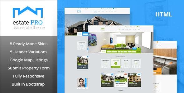 Estate Pro - Responsive HTML Template - Business Corporate