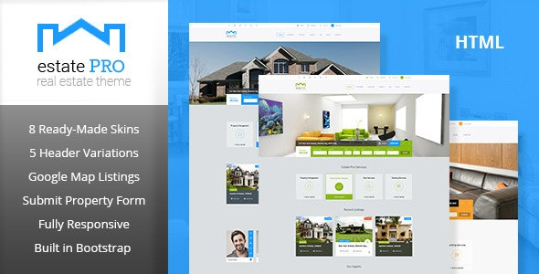 Estate Pro - Real Estate HTML Template - Business Corporate