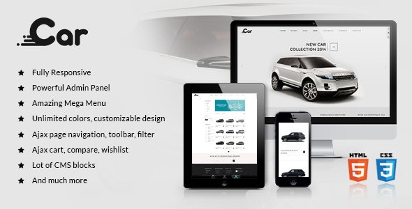 ZT Car - Responsive Joomla Virtuemart Template - Retail Joomla
