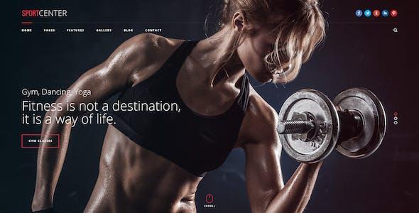 Sport Center - Yoga & Dance template