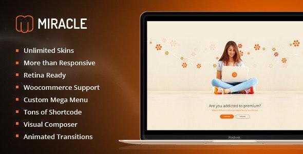 Miracle | Responsive Multi-Purpose WordPress Theme - Business Corporate
