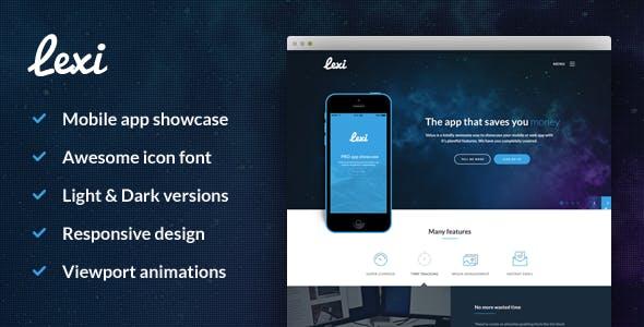 Lexi Mobile App HTML